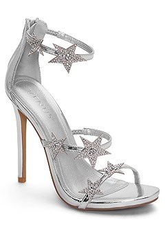 star detail heels