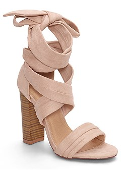 wrap around heels