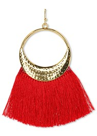 Alternate View Tassel Earrings