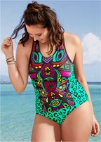 plus size tankini set