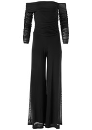Alternate View Mesh Detail Jumpsuit