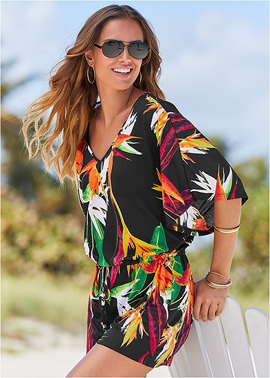 Paradise Romper Cover-Up