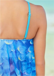 Alternate View Mesh Tankini Top