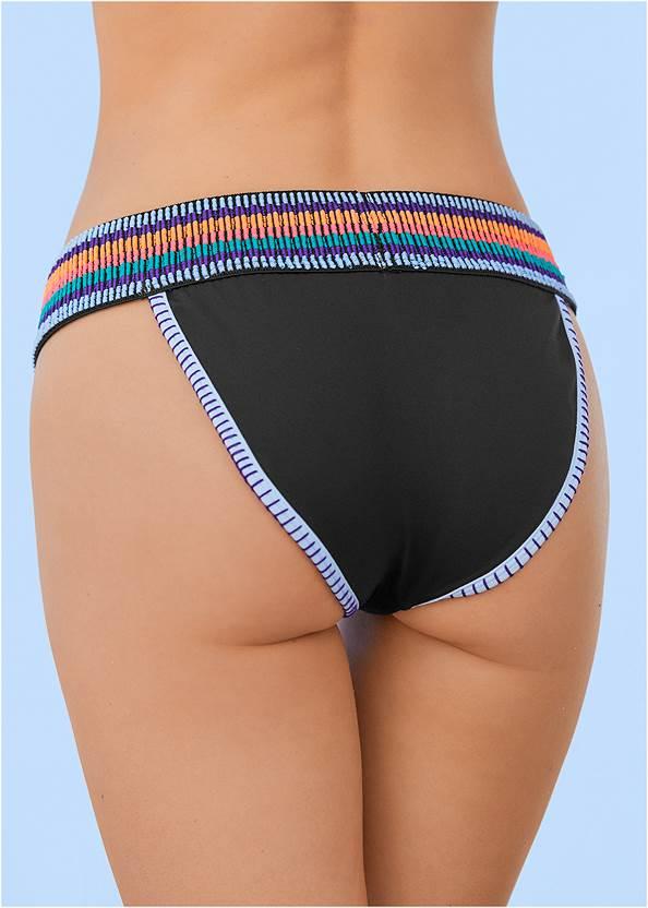 Alternate View Colorful Bikini Bottom