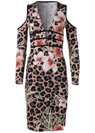 Alternate View Animal Print Bodycon Dress