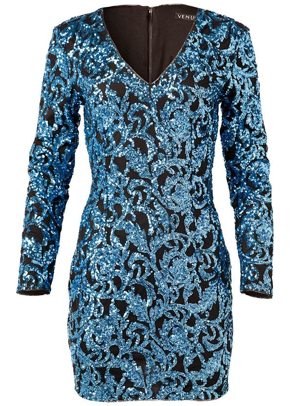 Alternate View Sequin Dress