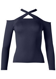 Alternate View Crisscross Neck Top