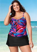 plus size swim dress