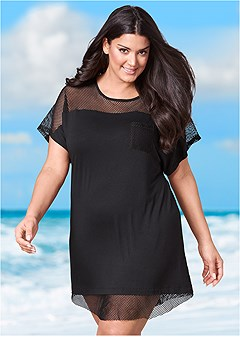 616161d127b Plus Size Bathing Suit Cover Ups: Dresses & Skirts - VENUS