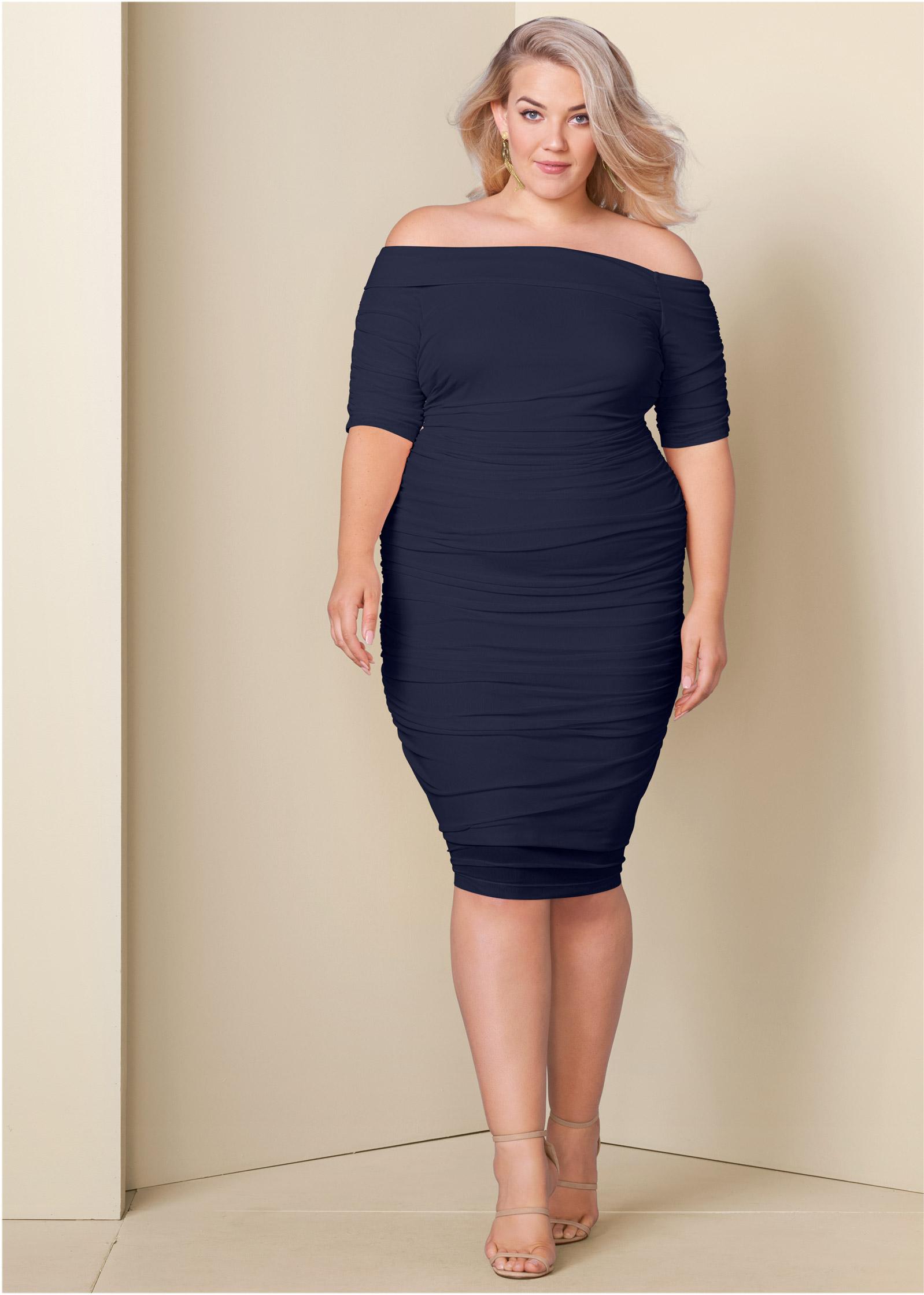 Designer Plus Size Cocktail Dresses for Women