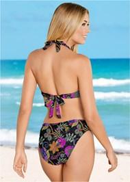 Full back view Scoop Front Classic Bikini Bottom