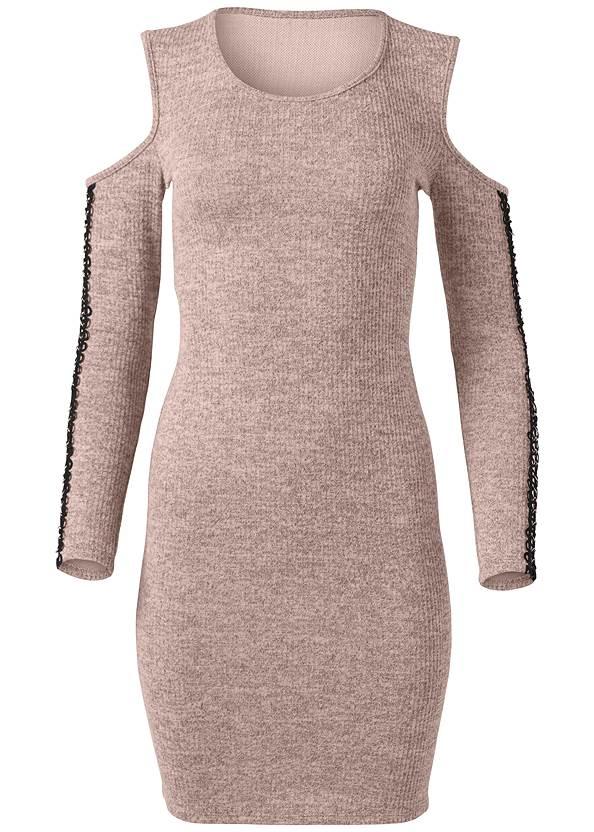 Alternate View Sleeve Detail Lounge Dress