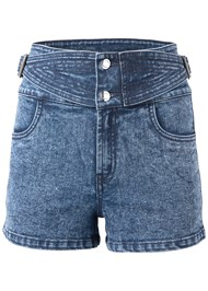 Alternate View Buckle Detail Shorts