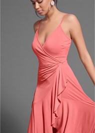 Detail  view Faux Wrap Dress