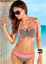 Front view Push Up Bra Top