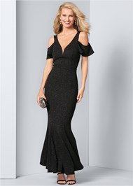 Front View Glitter Gown