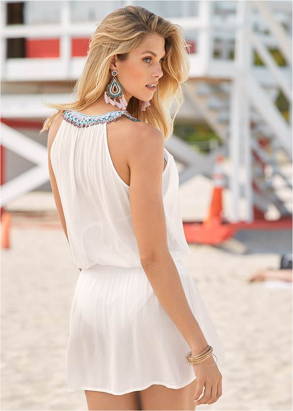 Back View Free Spirit Cover-Up Dress