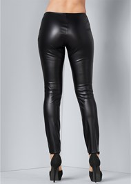 Alternate View Faux Leather Leggings