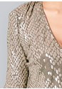 Alternate View Shimmer Detail Dress