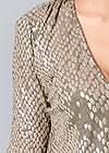 Alternate View Shimmer Detail Dress