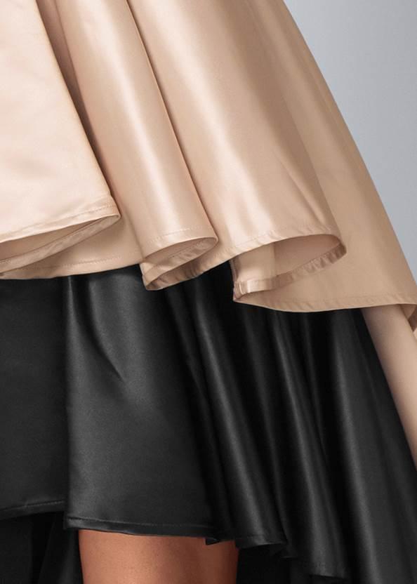 Alternate View Embellished High Low Dress