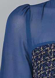 Alternate View Belt Detail Dress