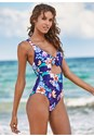 Front View Cut Out One-Piece