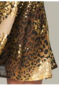 Alternate View Leopard Print Dress