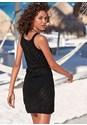 Full back view Crochet Cover-Up Dress