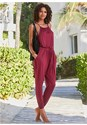 Full front view Cover-Up Jumpsuit