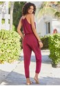 Full back view Cover-Up Jumpsuit