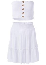 Alternate View Smocked Skirt Set