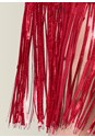 Alternate View Sequin Fringe Midi Dress