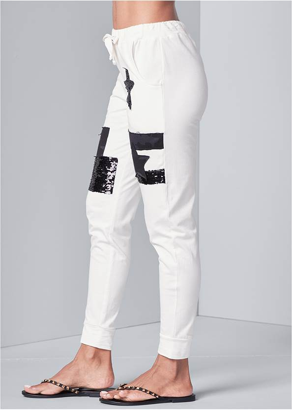 Alternate View Patchwork Joggers
