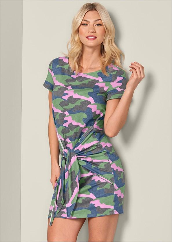 Tie Front Lounge Dress