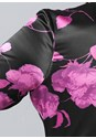 Alternate View Floral High Low Blouse