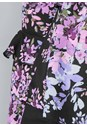 Alternate View Floral Tie Front Blouse
