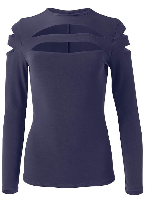 Alternate View Cut Out Top