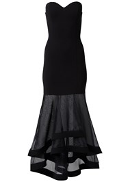 Alternate View Strapless Gown