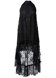 Alternate View High Low Lace Dress
