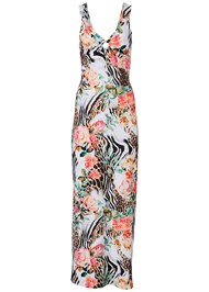 Alternate View Printed Maxi Dress