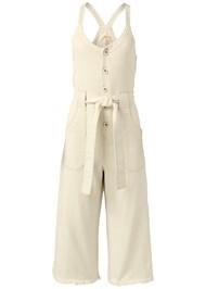 Alternate View Tie Front Culotte Jumpsuit