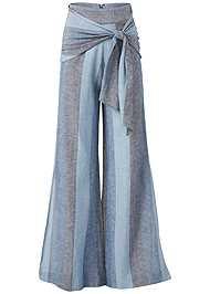 Alternate View Tie Front Linen Pants