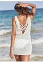 Back View Crochet Strappy Cover-Up