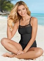 square neck tankini