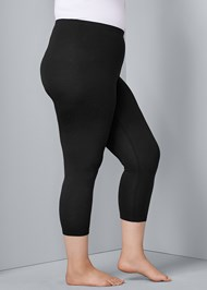Alternate View Basic Capri Leggings