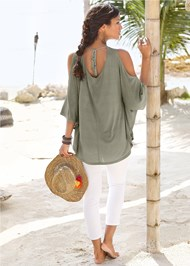 Alternate View Cold Shoulder Tunic