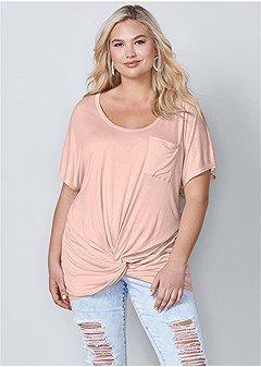 9de659350 Women's Plus Size Tops | Cold Shoulder, Lace & Tank Tops | VENUS
