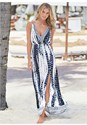 Front View Maxi Cover-Up Dress