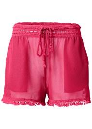 Alternate View Braid Detail Mesh Shorts